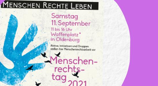 Plakat Menschenrechtstafg 2021